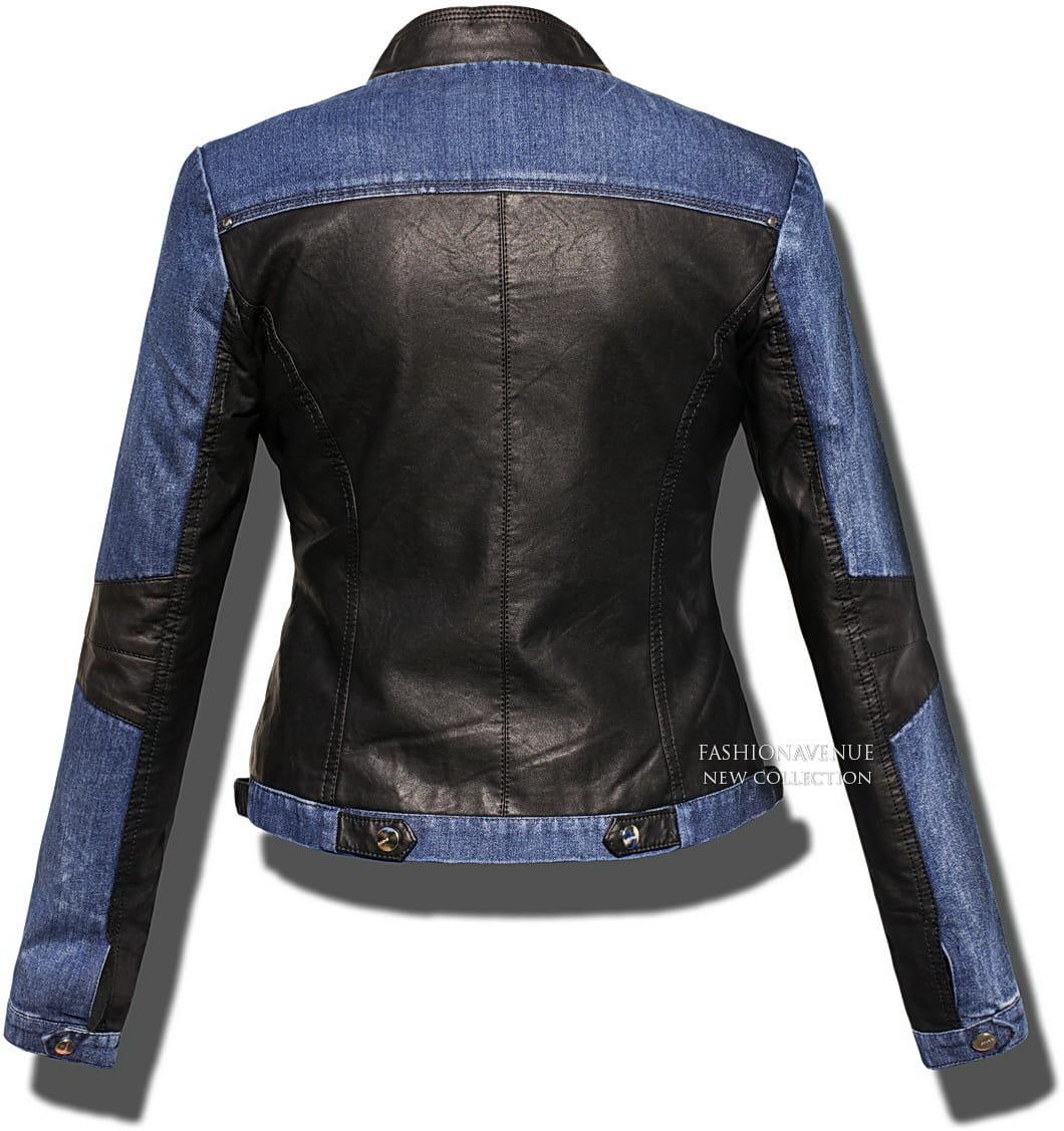 c27c06dd2e88f ... Najmodniejsza Kurtka Damska Ramoneska Skóra Jeans na Wiosnę 2017 Lato  Jesień 2016 Zameczki Blogerska model ...